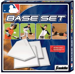 Franklin Sports 1986 MLB Deluxe 4-Piece Rubber Base Set