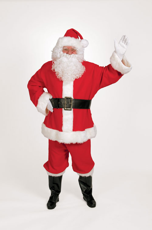 Halco 299 10 Piece Complete Santa Suit- Size 42-48 jacket up to 52 waist