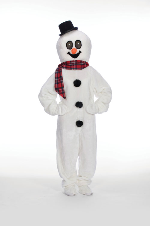Halco 1282 Snowman Suit with Mascot Head- Size Adult Medium