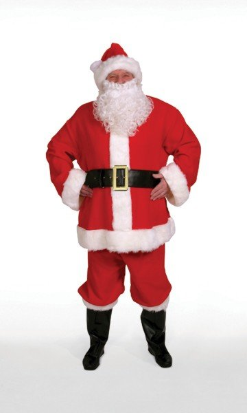 Halco 4291 Santa Claus Suit- Size 42-48 jacket up to 52 waist