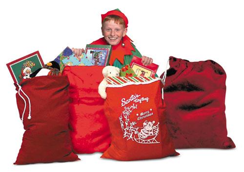 Halco 999 Santa's Toy Bag- Size 26 inch x 36 inch