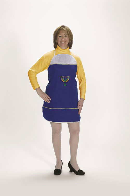 Halco 7061 Hanukkah Apron- One size fits most