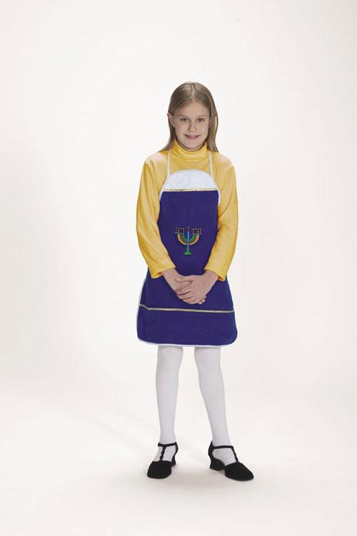 Halco 7061-C Hanukkah Apron- Size Child 4-12