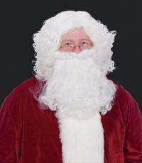 Halco 5993 Santa Polypropylene Beard & Mustache Set