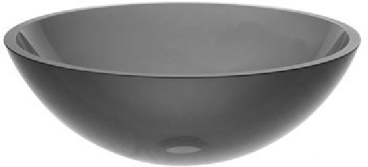 Kraus GV-104 Clear Black12mm Glass sink