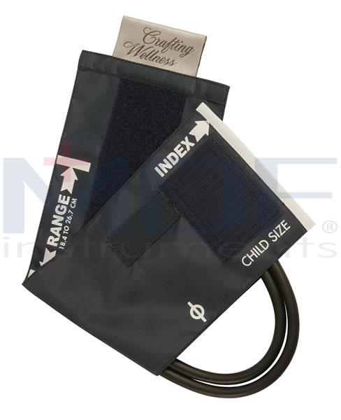 MDF Instruments MDF203042114 Latex-Free Replacement Blood Pressure Cuff - Pediatric - Single Tube -Pastel Blue