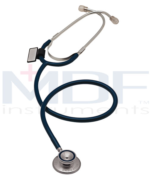 MDF Instruments MDF747BO Dual Head Stethoscope -All Black -Adult