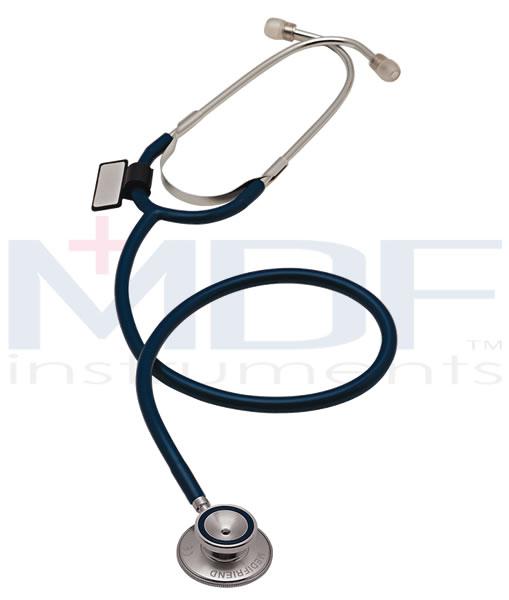 MDF Instruments MDF747ISP Dual Head Stethoscope -Translucent Red -Adult
