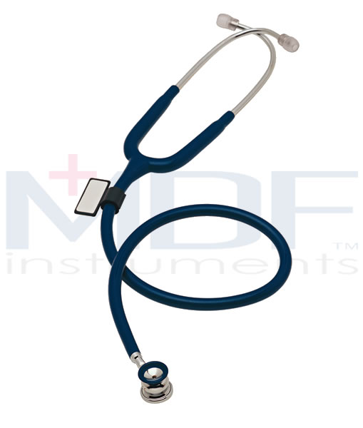 MDF Instruments MDF787XPBO Deluxe Infant and Neonatal Stethoscope -All Black -Infant