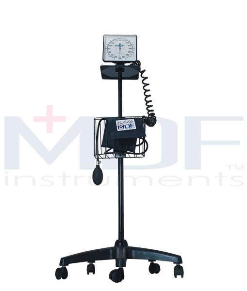 MDF Instruments MDF83004 Mobile Aneroid Sphygmomanometer -Navy Blue -Adult