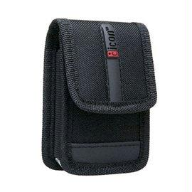 Icon PRFLAP-BLK Black Compact Digital Camera Case