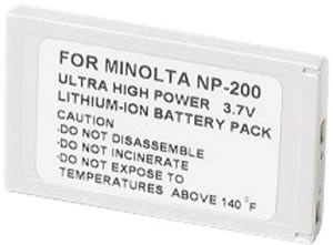 Power2000 ACD-210 Compatible With The Minolta Dimage Xt  X20