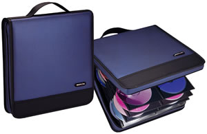 Motion Systems EDW144-BLU 144 Cd Organizer