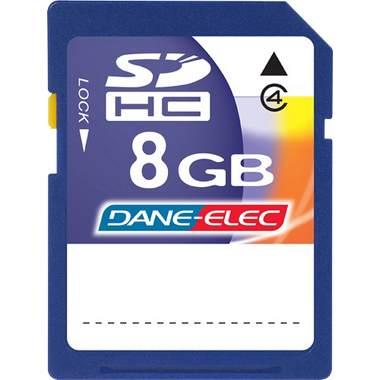Dane-Elec DASD8192R Dane-Elec 8 Gb Secure Digital -Sd - Memory Card