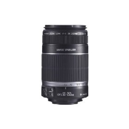 Canon EF-S 55-250MM -2044B002 - Ef-S 55-250Mm F-4-5.6 Is Image Stabilizer Telephoto Zoom Lens Camera