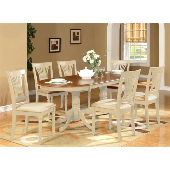 WHI C 9 Piece Dining Room Table Set Dining Table Plus 8 Dining Chairs