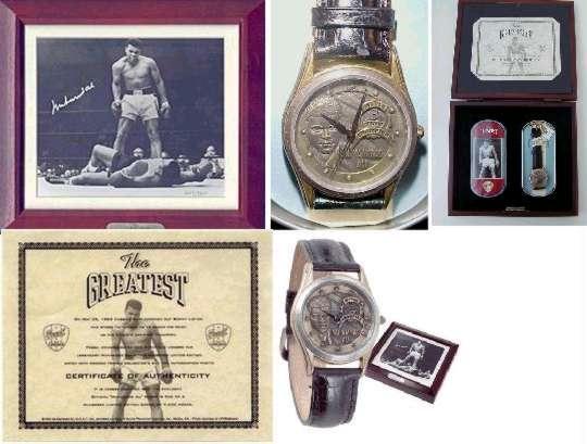 Superstar Greetings MA-FW Muhammad Ali Fossil Watch