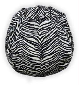 Bean Bag Boys BB-35-MF-ZEBRA MicroFibres Zebra Bean Bag Chair