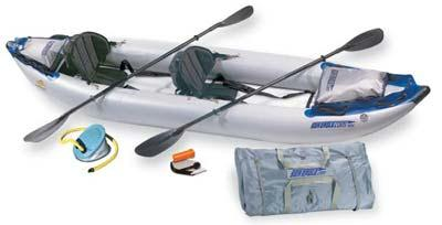 Sea Eagle 380X-DLX Sea Eagle 380X Deluxe Kayak Package