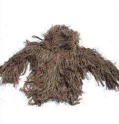 GhillieSuits G-BDU-J-Desert-Large Ghillie Suit Jacket Desert Large