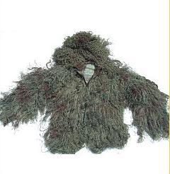 GhillieSuits G-BDU-J-Leafy-XXXL Ghillie Suit Jacket Leafy XXXL