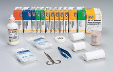 196 Piece Refill For Bulk 50 Person First Aid Kits: 225-U & 226-U - 1 Ea.