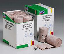 3 In. x 5 Yd. First Aid Only Elastic  - Ace  - Bandage - Latex Free with Two Fasteners - 12 Per Dispenser Box