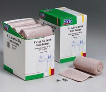 4 In. x 5 Yd. First Aid Only Elastic  - Ace  - Bandage with Two Fasteners - 9 Per Dispenser Box