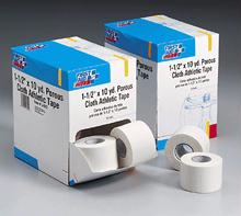1.5 in. x 10 Yd. Porous Cloth Athletic Tape Roll - 16 Per Dispenser Box
