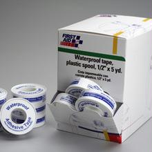 0.5 in. x 5 Yd Waterproof Tape with Plastic Spool - 36 Per Dispenser Box