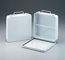 24 Unit - Empty Metal Case - 1 Shelf - Hinged with Gasket - Horizontal - 1 Ea.