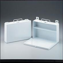 25 Person - Empty Metal Case - 1 Shelf - with Handle & Mounting Hardware - 10.5 in. x 7.5 in. x 2-1 / 2 In.  - 1 Ea.