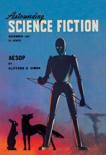 Astounding Science Fiction  December 1947 20x30 Poster