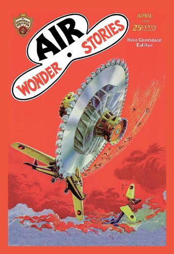 Air Wonder Stories 20x30 Poster