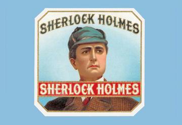 Buyenlarge 01839-9G24x36 Sherlock Holmes Cigars 24 x 36 Giclee