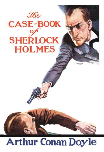 The Case-Book of Sherlock Holmes - book cover - 24x36 Giclee