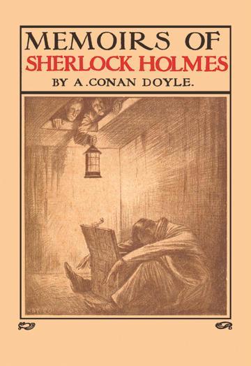 Memoirs of Sherlock Holmes - book cover - 24x36 Giclee