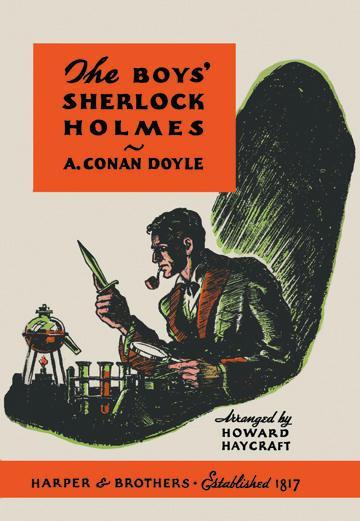 The Boys Sherlock Holmes - book cover - 24x36 Giclee