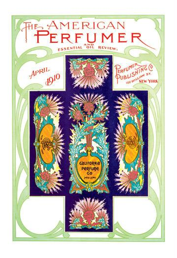 American Perfumer and Essential Oil Review April 1910 24x36 Giclee
