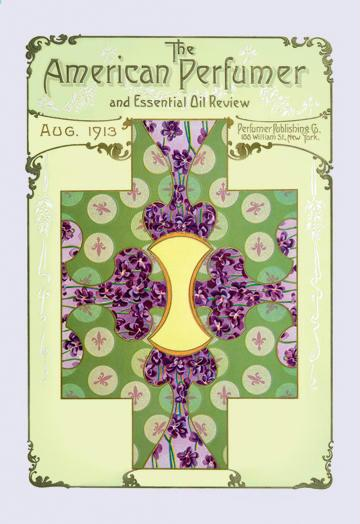 American Perfumer and Essential Oil Review August 1913 24x36 Giclee