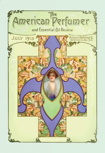 American Perfumer and Essential Oil Review July 1913 24x36 Giclee