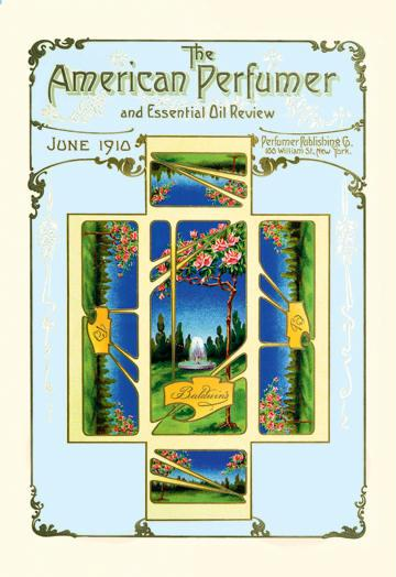 American Perfumer and Essential Oil Review June 1910 24x36 Giclee