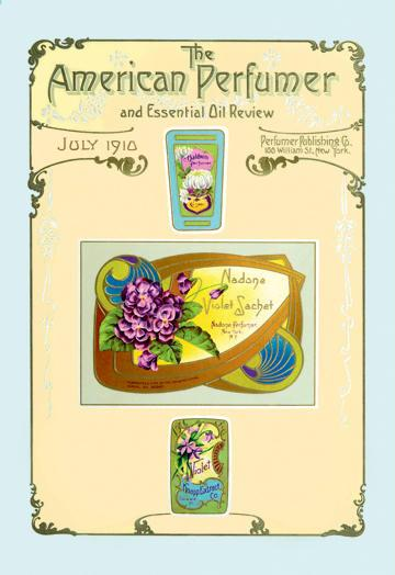 American Perfumer and Essential Oil Review July 1910 24x36 Giclee