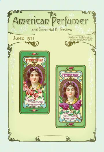 American Perfumer and Essential Oil Review June 1911 24x36 Giclee