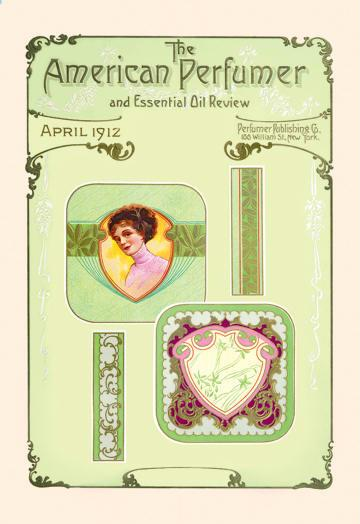American Perfumer and Essential Oil Review April 1912 24x36 Giclee