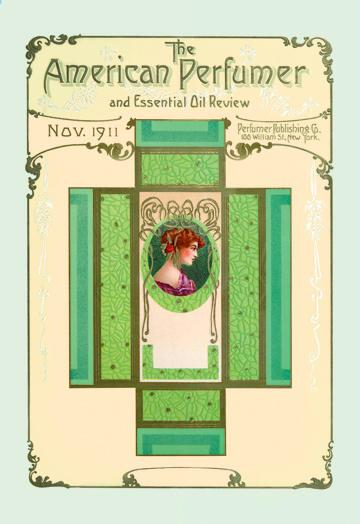 American Perfumer and Essential Oil Review November 1911 24x36 Giclee