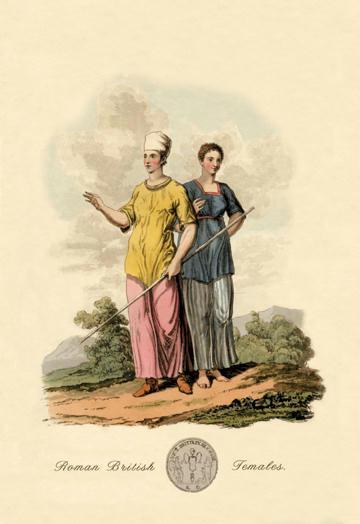 "Buyenlarge 07858-8G24x36 Roman British Females 24"" x 36"" Giclee"