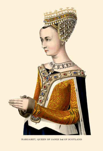 Margaret Queen of James 3rd of Scotland 24x36 Giclee