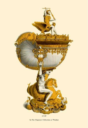 Cup in Her Majesty's Collection at Windsor 24x36 Giclee DDDSD502451