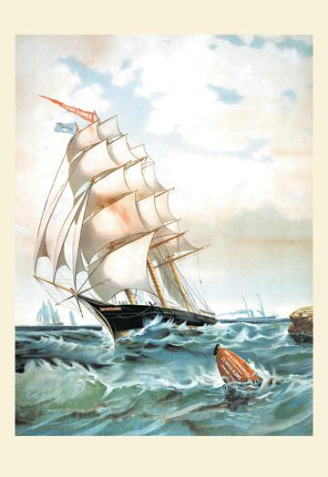 Parlin and Orendorff Co. - Clipper Plows - Sailing - 24x36 Giclee